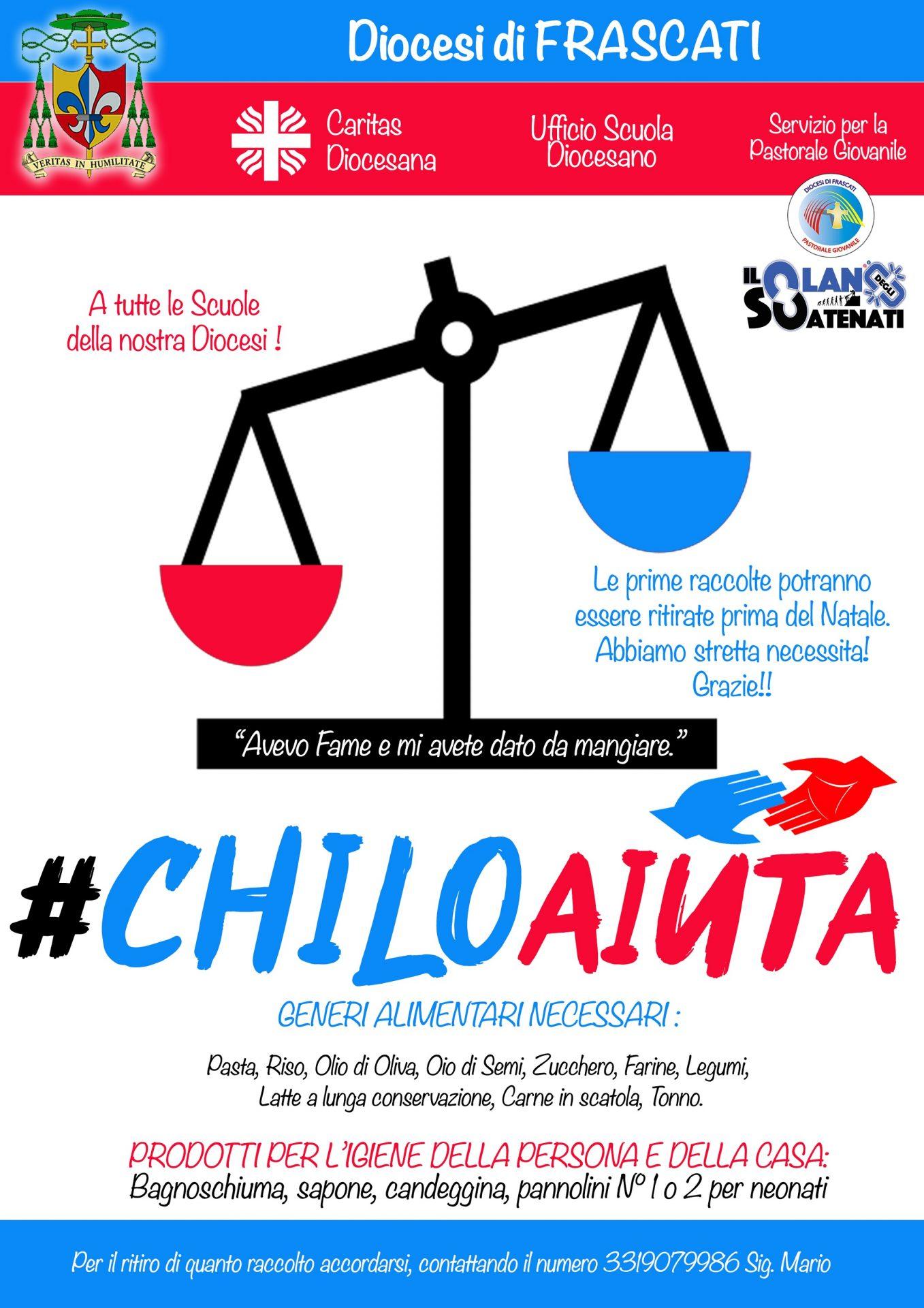 #chiloaiuta progetto Diocesi
